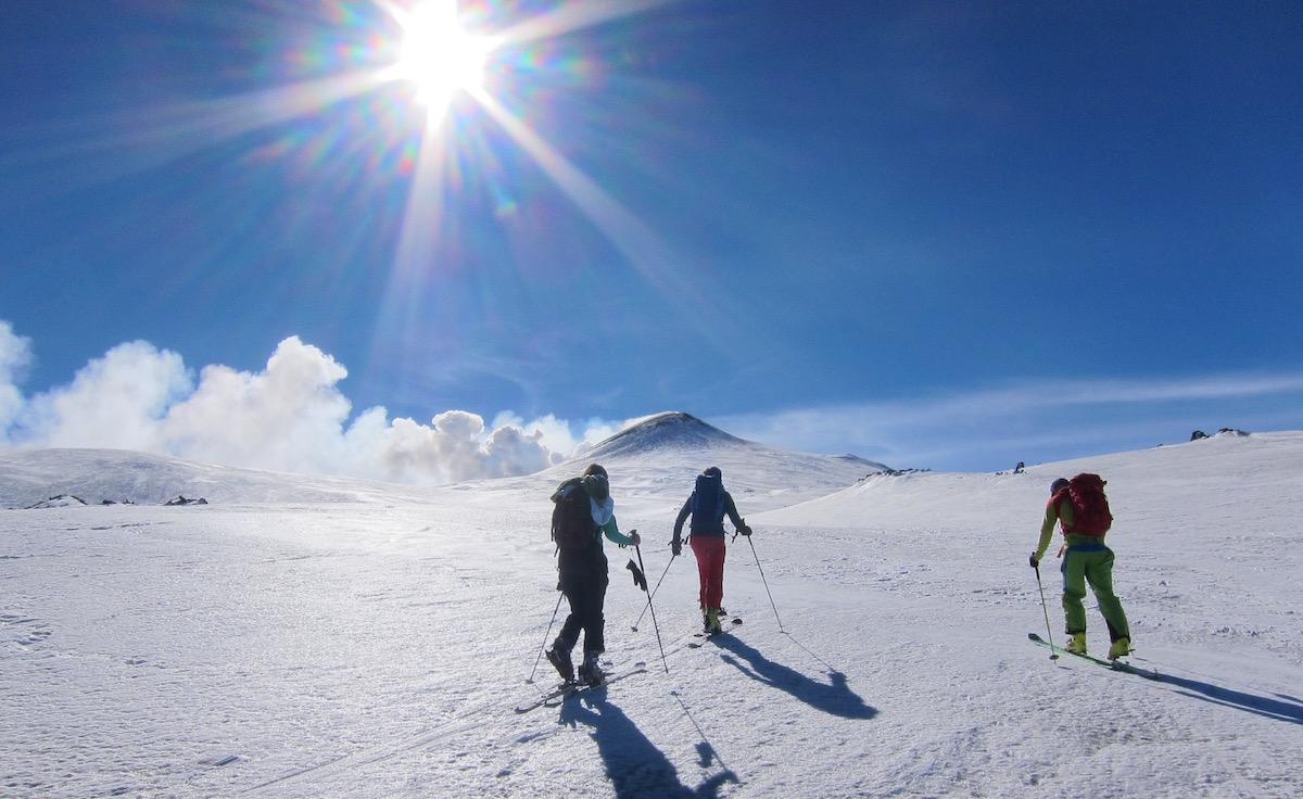 Etna sci alpinismo